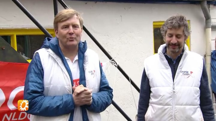 Koning Willem-Alexander reageert op medische ingreep Máxima
