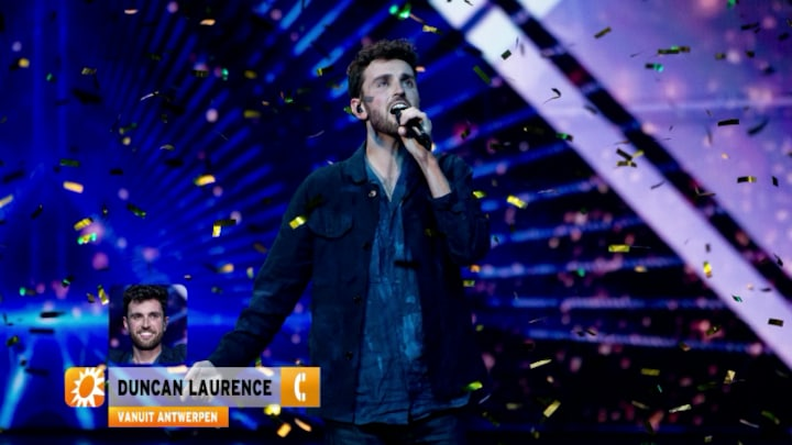Duncan Laurence zit nog steeds in bubbel Songfestival