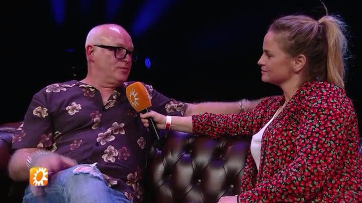 """René van der Gijp geeft theatervoorstelling: """"We hebben niks voorbereid"""""""