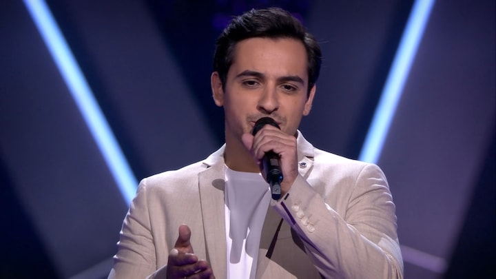 The Voice: Bekijk optreden Jonathan Vroege met Sorry Seems To Be The Hardest Word (Blind Auditions)