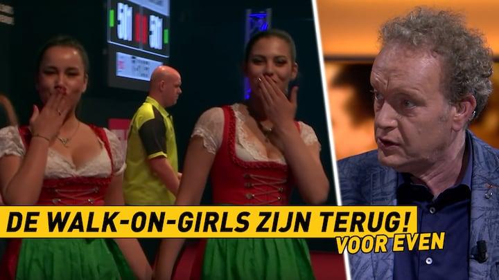 RTL Darts Bullseye: De walk on-girls keren (tijdelijk) terug