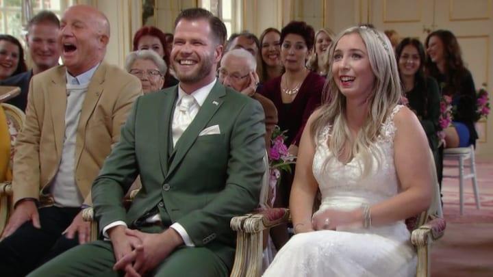 Nick en Maxime geven elkaar jawoord in Married at First Sight