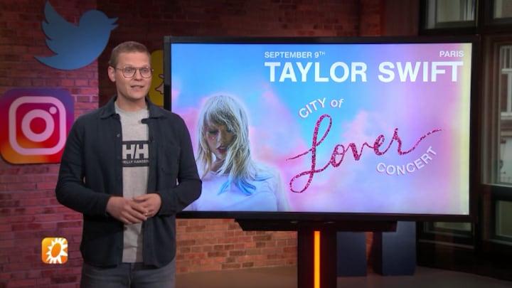 RTL Boulevard maakt fan blij met concertkaartjes Taylor Swift