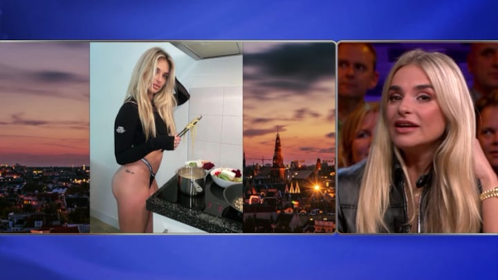 """Gaby Blaaser: """"Blootfoto's leveren meer likes op"""""""