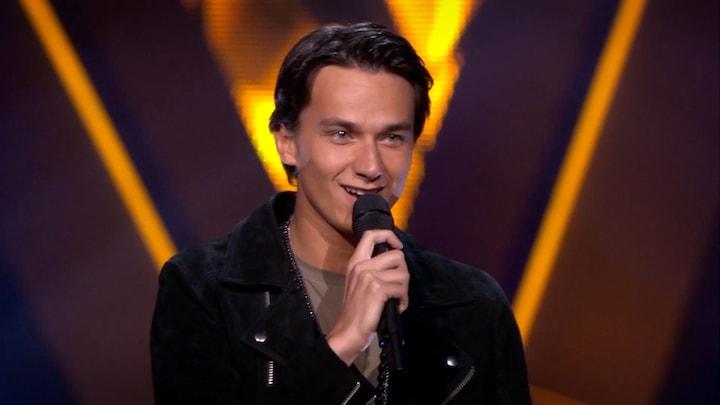 The Voice: Bekijk optreden Danilo Kuiters met Waarom (Blind Auditions)