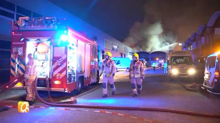 Woonwagen schoonvader André Hazes afgebrand: 'Schade is aanzienlijk'