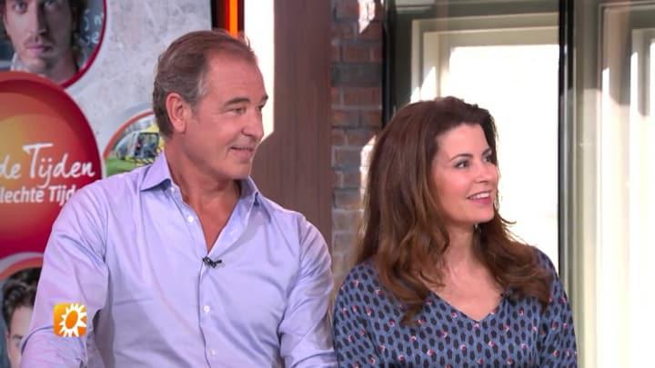 Ludo en Janine vertellen over zomercliff Goede Tijden, Slechte Tijden