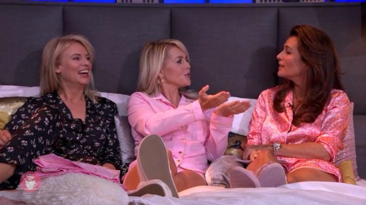 Chantal Janzen werd door elke gast Chantals Pyjama Party even gehaat