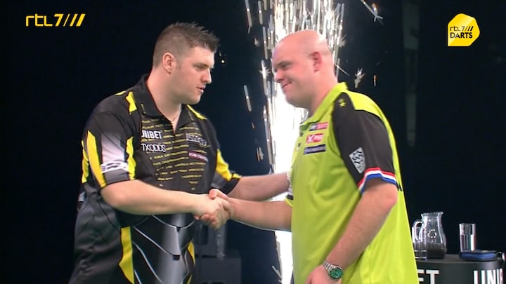 Michael van Gerwen is koppositie Premier League Darts kwijt na nederlaag