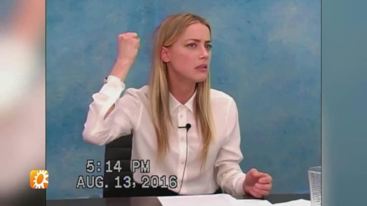 Beelden: Amber Heard over heftige mishandeling door ex Johnny Depp