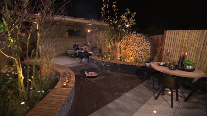 Eigen Huis Tuin Romantische Tuin Eindresultaat