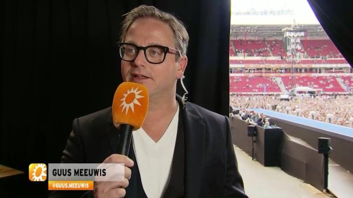 Vriendin kleedt Guus Meeuwis: Bassie of rock-'n-roll?