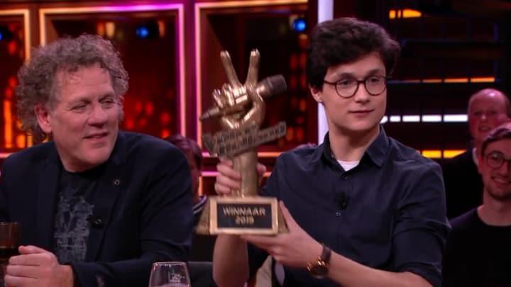 RTL Late Night gemist? Dennis van Aarssen over zijn winst in The Voice of Holland