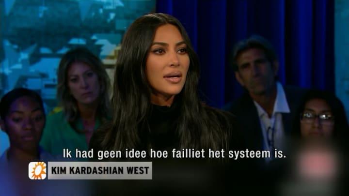 Kim Kardashian in gevangenis voor nieuwe documentaire: 'Mijn hart ging open'