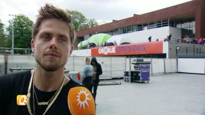 André Hazes trots op voetballied Wij Zijn Oranje