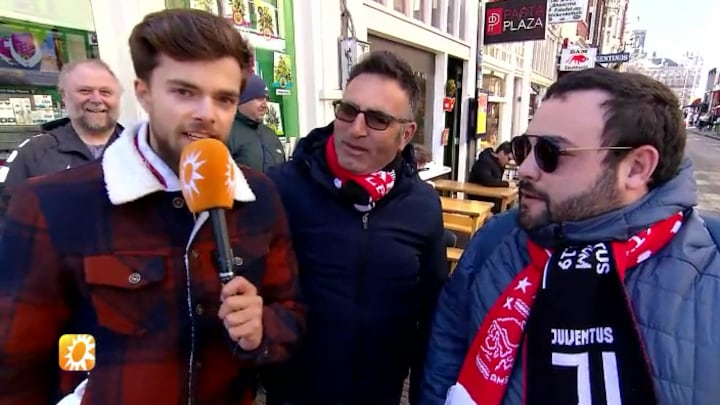 Buddy Vedder ondervraagt Juventus-fans
