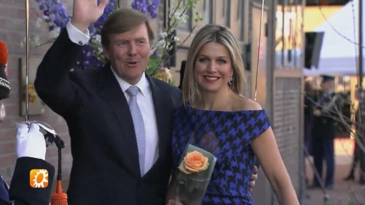 Koning Willem-Alexander en koningin Máxima lijken weer dolverliefd te zijn