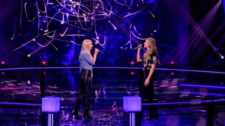 The Voice: Bekijk The Battle Sanne Huisman vs. Daphne van Ditshuizen (Battle ronde 4)