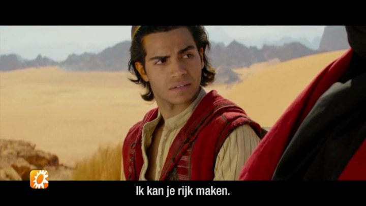 "Acteurs uit Aladdin over nieuwe Disney-blockbuster: ""Marwan Kenzari is knap!"""