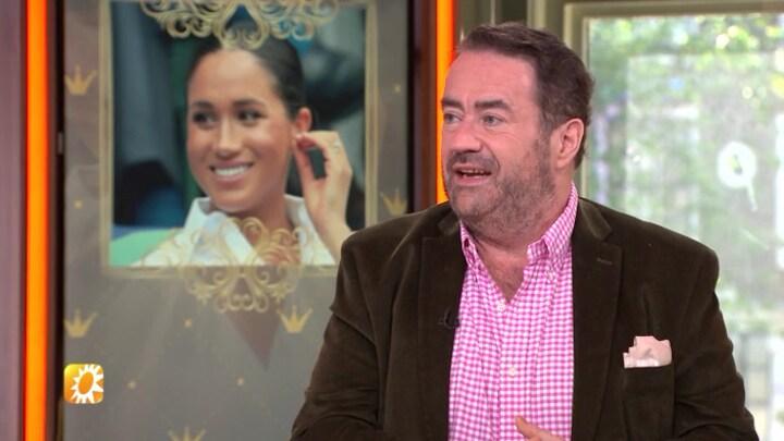 Marc van der Linden over terugkeer Meghan Markle bij evenementen: 'Je moet maar durven'