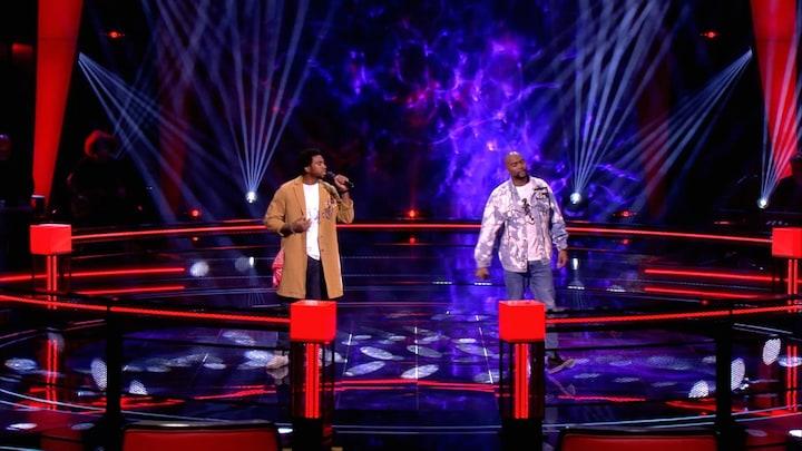 The Voice: Bekijk The Battle Mitch Crown vs. Dasilvian Bruce (Battle ronde 4)