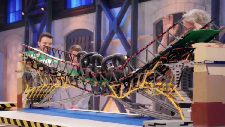 brug bouwen, lego inspiratie en een leuk idee