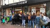 Lange rijen voor Flying Tiger: alles voor één euro