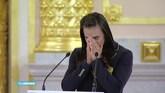 Tranen bij uitzwaaien Russische olympiërs