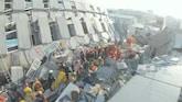 Zoektocht na aardbeving Taiwan gaat door: dodental stijgt
