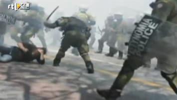 RTL Nieuws Griekse politie hakt er hard op in
