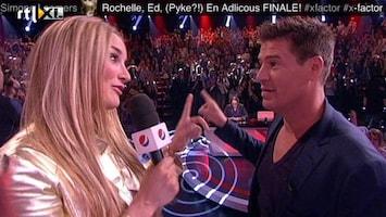 X Factor Martijn enthousiast over de sfeer