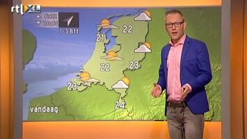 RTL Nieuws 'Sluierbewolking, maar toch een zomerse dag'