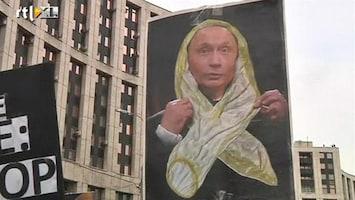 RTL Nieuws Poetin maakt oppositie met invallen monddood