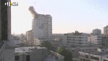 RTL Nieuws Raketten vliegen over en weer in Gaza-conflict