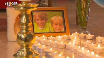 RTL Nieuws Duizenden betuigen steun aan moeder Ruben en Julian