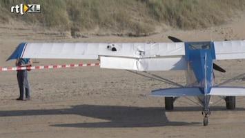 RTL Nieuws CDA-vliegtuigje in de lucht geramd