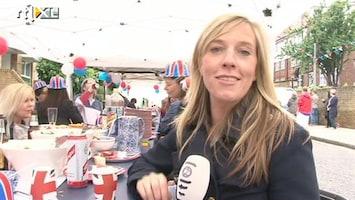 RTL Nieuws Londenaren drinken met de buren op de koningin