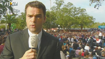 RTL Nieuws 'Erop of eronder voor president Obama'