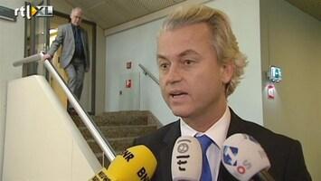 RTL Nieuws Wilders: Kunduz-pakket regelrecht de prullenbak in
