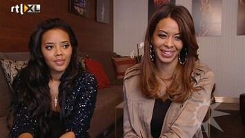 RTL Boulevard Angela en Vanessa Simmons van Pastry in