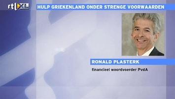 RTL Nieuws Reactie Plasterk op situatie rondom Griekenland