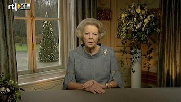RTL Nieuws Kersttoespraak koningin Beatrix