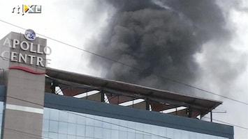 RTL Nieuws Hele dag al brand in Nairobi