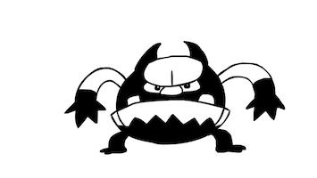 Doodle - Grumpy Monster