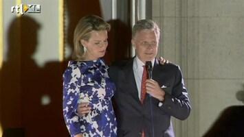 RTL Nieuws Koning Filip: 'Dank u, dank u'