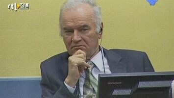 RTL Nieuws Proces Mladic voorlopig stilgelegd
