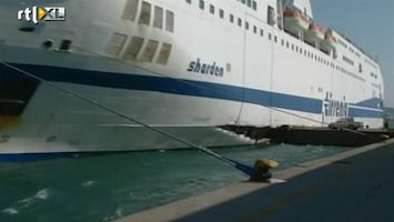 RTL Nieuws Opnieuw ongeluk groot schip Italië