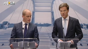 Editie NL Rutte en Samsom presenteren regeerakkoord