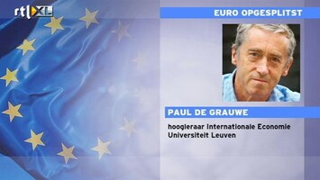 RTL Nieuws 'Einde Eurozone zeker mogelijk'