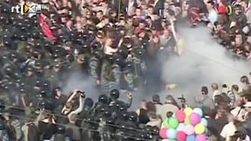 RTL Nieuws Rellen tijdens protest tegen Poetin